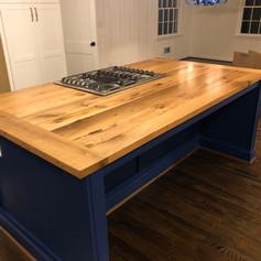 Kitchen Island Oak Countertop