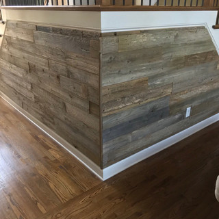 Reclaimed Wood Cladding   Staircase