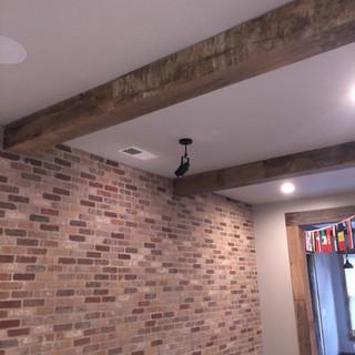 Box Beams | Hardwood Paneling
