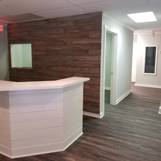 Feature Wall | Reclaimed Wood Paneling