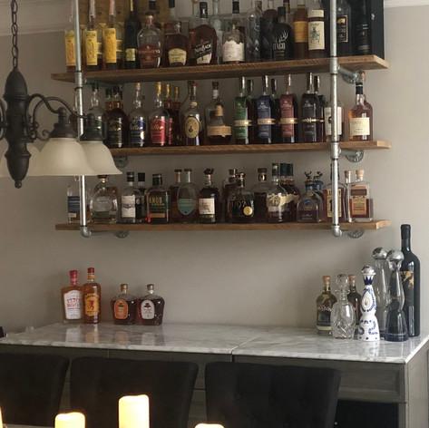 Industrial Bar Shelves