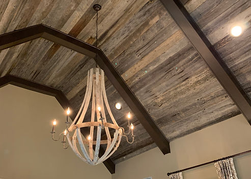 vaulted-ceiling-gray-oak-paneling