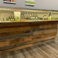 counter display hemp farmacy alpharetta