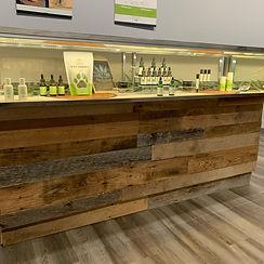 counter display hemp farmacy alpharetta