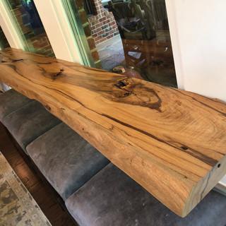 Tigerwood slab table