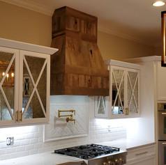 Kitchen Hood in Brown Oak