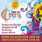 YA SALIÓ EL CD DEL TALLER DEL CENCERRO 20 AÑOS