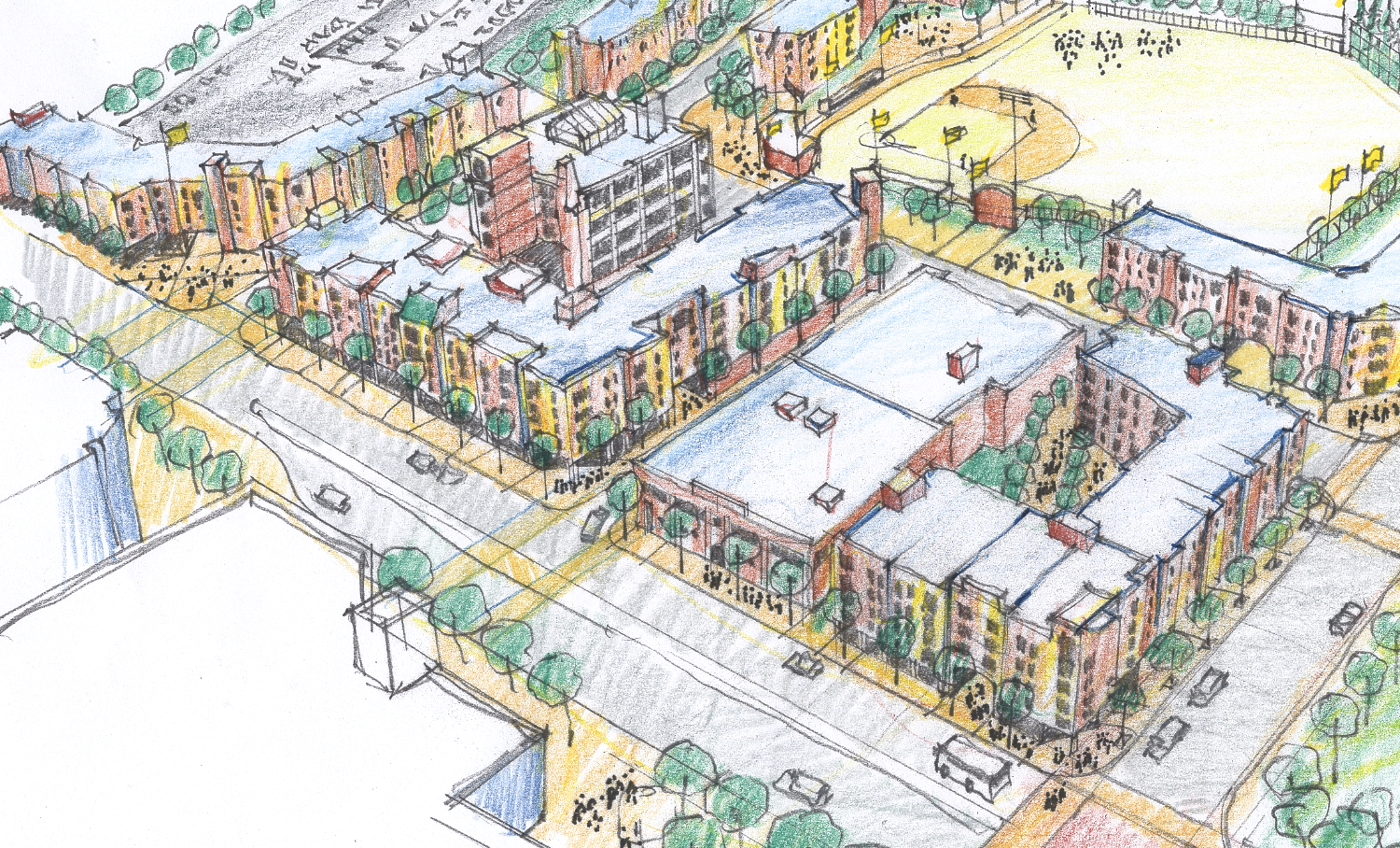 PROPOSED NORTH CAMPUS NEIGHBORHOOD