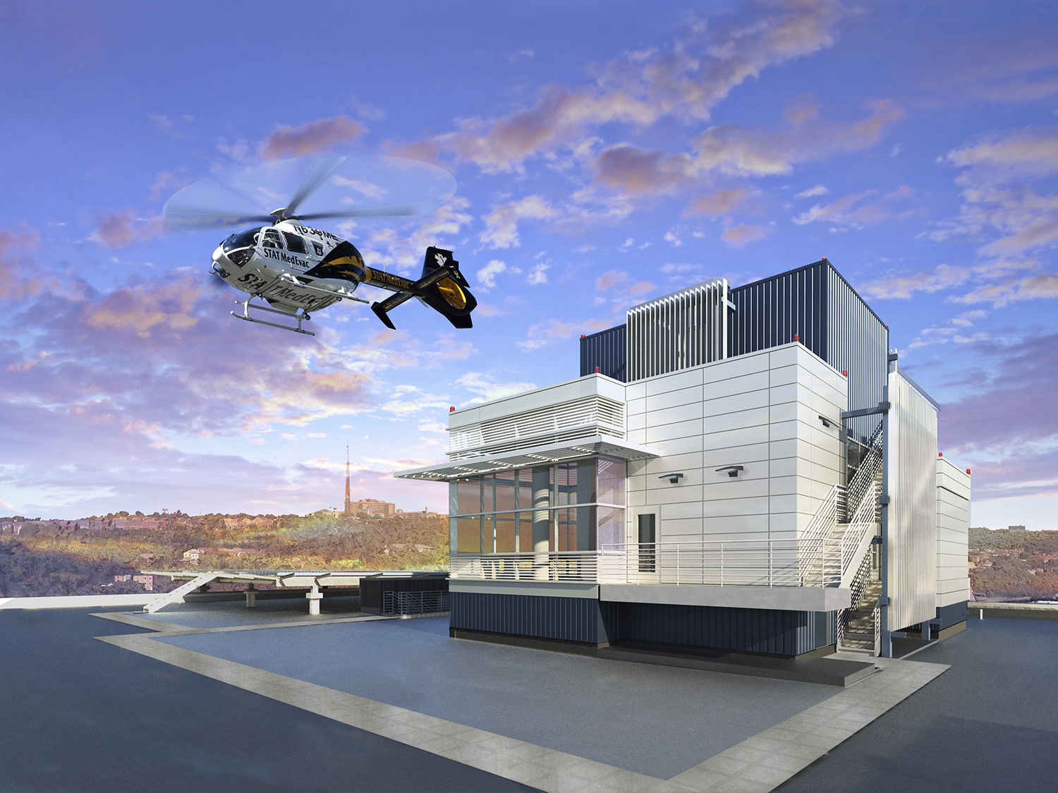 UPMC Mercy Heliport Relocation
