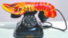 Telefone lagosta, de Salvador Dali