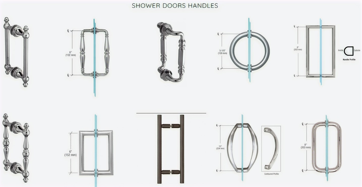 Shower Door Handles