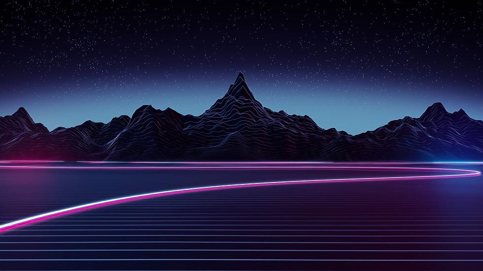 highway-5120x2880-neon-mountains-retrowa