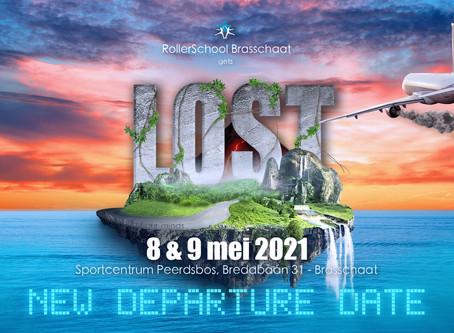 """""""LOST"""" uitgesteld tot 8 & 9 mei 2021"""