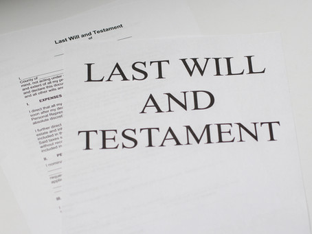 When You Wrote Your Will, Did You Make Sure it Dovetails with your Financial Plan?