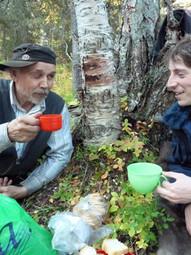 Doing fieldwork in Russian Lapland (Kola Peninsula)