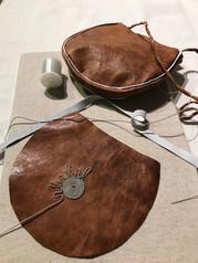 Bag with Sámi decoration | Laukku saamelaisilla koristeilla