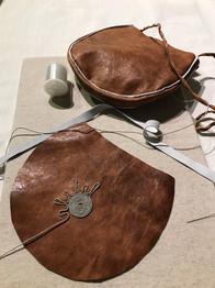 Reindeer leather bags