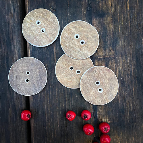 Round big buttons x 5pcs