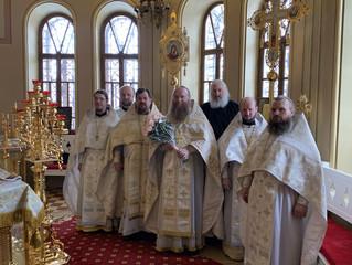 В день тезоименитства наместника нашей обители игумена Симеона(Кулагина) была совершена праздничная