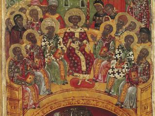 20 мая в Неделю 7-ю по Пасхе Церковь чтит память святых отцев I -го Вселенского собора