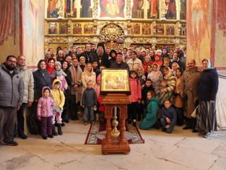 20 сентября 2020 года Свияжск посетили паломники из Никольского кафедрального собора города Казани.