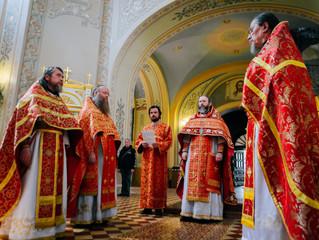 9 августа в нашей обители прошли торжества посвященные дню памяти священномученика Амвросия
