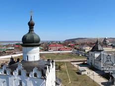 Вид с колокольни храма свт. Николая Чудотворца.