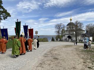 9 мая 2021 года в Свияжске прошел традиционный Крестный ход