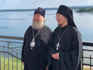 2 июля Свияжск посетил митрополит Астанайский и Казахстанский Александр