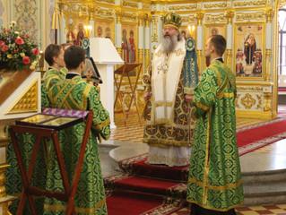 31 декабря 2020 митрополит Казанский и Татарстанский Кирилл посетил Свияжский монастырь