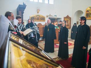 27 апреля в нашей обители состоялось архиерейское богослужение