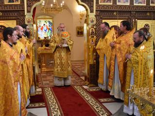 Председатель Синодального отдела по монастырям и монашеству посетил наш монастырь