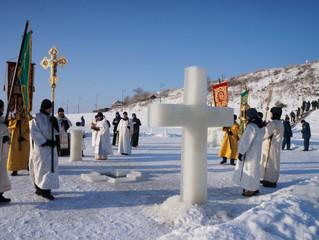 19 января в Свияжском Успенском монастыре состоялись торжества в честь праздника Крещения Господня (