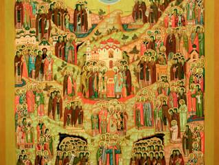 10 июня 2018 года - День всех святых в земле  Российской просиявших
