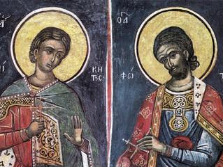 25 августа - день памяти святых мучеников Фотия и Аникиты
