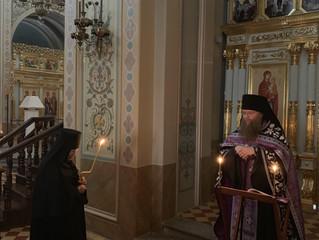 17 апреля в Свияжске был совершен монашеский постриг