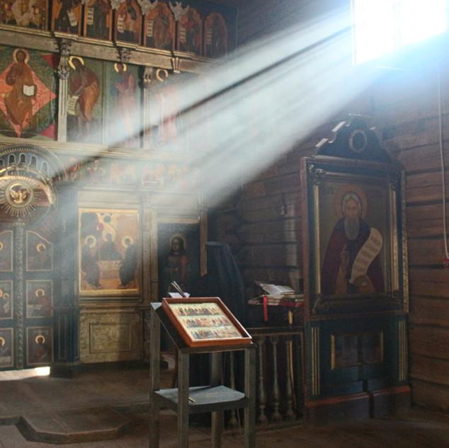 Интерьер Троицкой церкви