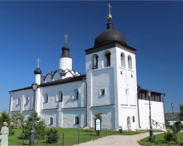 Храм в честь прп Сергия Радонежского рубеж XVI-XVII вв