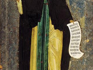 22 июня - день памяти преподобного Кирилла Белозерского
