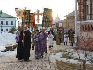 Вечерня Великой Пятницы и Утреня Великой Суботы с Чином Погребения