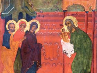 15 февраля Церковь празднует Сретение Господне