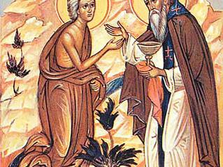 18 апреля 2021 года - пятая неделя Великого поста, преподобной Марии Египетской