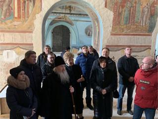 Сегодня в нашей обители прошло совещание с участием митрополита Казанского и Татарстанского Феофана