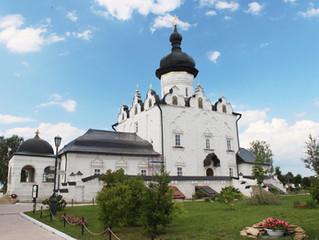 28 августа митрополит Феофан освятил  Успенский собор Свияжского монастыря