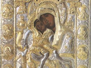 """24 июня - день памяти иконы Божией Матери """"Достойно есть"""""""
