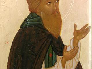 30 августа - день памяти прп. Алипия Печерского