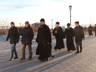 22 ноября Свияжский Успенский монастырь посетили митрополит Дионисий и митрополит Иоанн