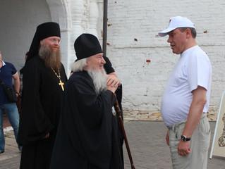 18 июля нашу обитель посетил Начальник Генерального штаба Вооружённых сил Российской Федерации генер