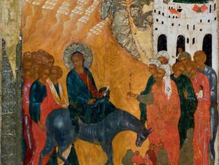 Древние иконы праздника Входа Господня в Иерусалим из Свияжского Успенского собора и Троицкой церкви
