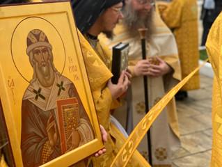 В день памяти святителя Германа в Свияжском Успенском монастыре прошли престольные торжества